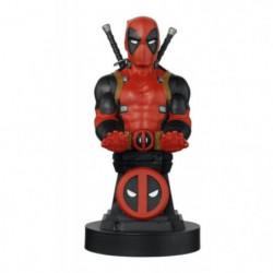 Figurine support et recharge manette Cable Guy Deadpool