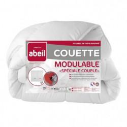 ABEIL Couette MODULABLE Spécial Couple 220x240cm