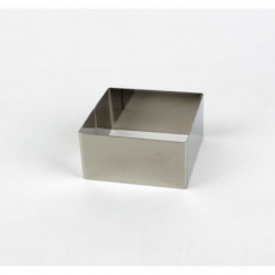 AERTS Emporte piece -  8x8xH4,5cm -  Carré - Inox