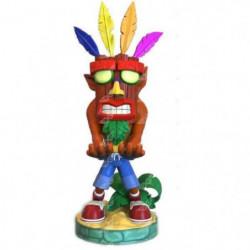 Figurine Support Manette Crash Bandicoot Aku Aku