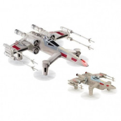 STAR WARS Drone T-65 X Wing Star Fighter + 1 Drone Propel T-65