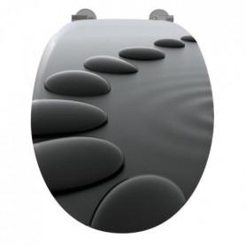 GELCO Abattant WC Infini noir