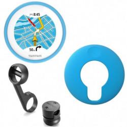 TomTom VIO GPS pour Scooter Housse silicone bleue