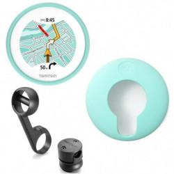 TomTom VIO GPS pour Scooter + Housse silicone verte