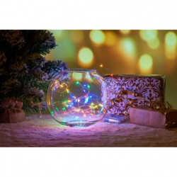 Guirlande de Noël Filaire - 80 Mini LED - Multicolore