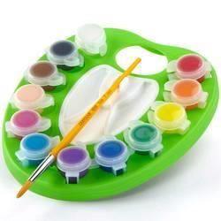 Crayola - Palette de peinture lavable réutilisable