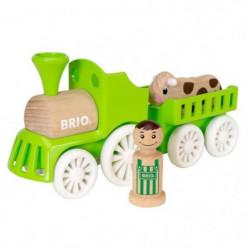 BRIO - My Home Town - Train De La Ferme - Jouet en bois