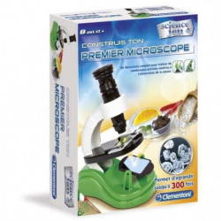 CLEMENTONI Science & Jeu - Construis ton premier Microscope