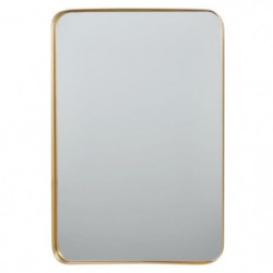 Miroir rectangulaire en aluminium - 40 x 55,5 x 3,5 cm