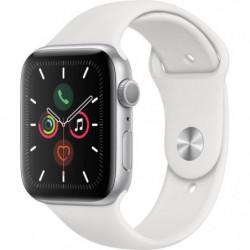 Apple Watch Series 5 GPS 44 mm Boîtier en Aluminium Argent