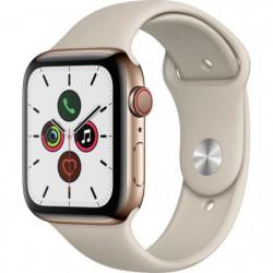 Apple Watch Series 5 Cellular 44 mm Boîtier en Acier Inoxydable