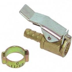 MECAFER Embout grosse valve pour tuyau 6 x 11