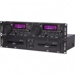IBIZA SOUND 15-2211 Double lecteur CD / USB avec scratch