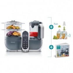 BABYMOOV Nutribaby(+)  & Foodii - Robot Multifonctions & Kit