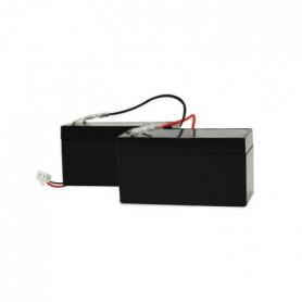 SCS SENTINEL Kit de 2 batteries de secours 1,2 AH