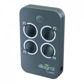 DIAGRAL BY ADYX Télécommande 4 touches sécurité commande
