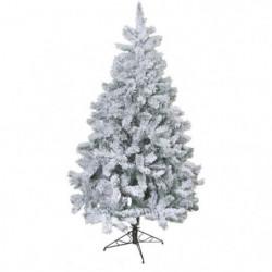 Sapin de Noël artificiel Floqué - 218 branches - 120 cm