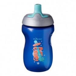 TOMMEE TIPPEE Tasse Sporty pour enfant - bleu - 12 mois +