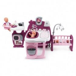 SMOBY Baby Nurse Grande Maison des Bébés - 3 Espaces de Jeux