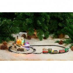 Petit Train électrique du Pere-Noel a piles