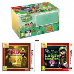 New 2DS XL  Ed Animal Crossing + Luigi's Mansion 2 + …