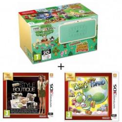 New 2DS XL Ed Animal Crossing + La Nouvelle Maison du Style