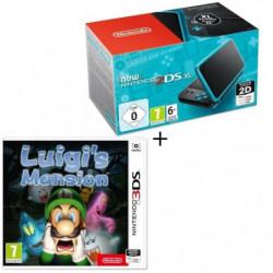 Console New Nintendo 2DS XL Noire et Turquoise  + Luigi's Mansion