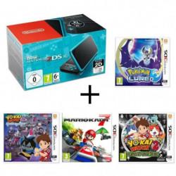 New 2DS XL Noire Turquoise + Yo-Kai Watch 2