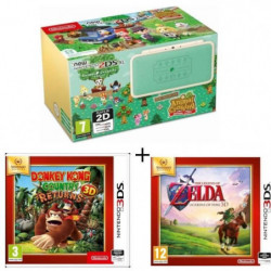 New 2DS XL Ed Animal Crossing + Donkey Kong Country Returns
