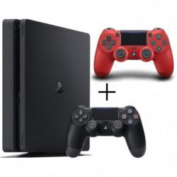 Pack Playstation 4 : Console PS4 500 Go Noire + Manette