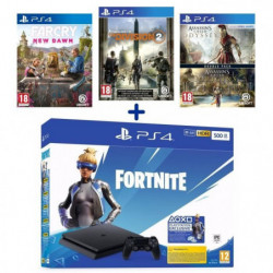 Pack PlayStation : PS4 500 Go Noire + Assassin's Creed BiPac