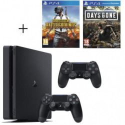 Pack Playstation : PS4 500Go + PUBG + Days Gone + …