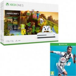 Xbox One S 1 To Minecraft Creators + Fifa 19
