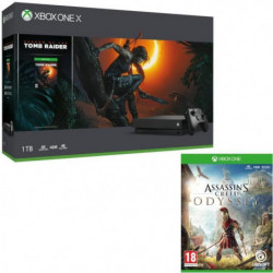 Xbox One X 1 To Shadow of The tomb Raider + …