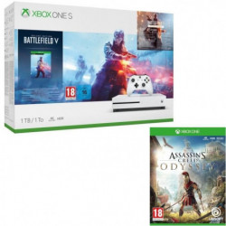 Xbox One S 1 To Battlefield V + Assassin's Creed Odyssey