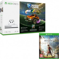 Xbox One S 1 To Rocket League + Assassin's Creed Odyssey