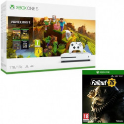 Xbox One S 1 To Minecraft Creators+ Fallout 76