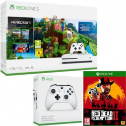 Xbox One S 1 To Minecraft + Red Dead Redemption 2 + …