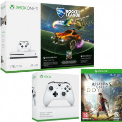 Xbox One S 1 To Rocket League + Assassin's Creed Odyssey + …
