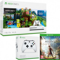 Xbox One S 1 To Minecraft + Assassin's Creed Odyssey + …