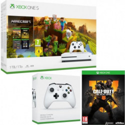 Xbox One S 1 To Minecraft Creators+ Call of Duty Black Ops 4