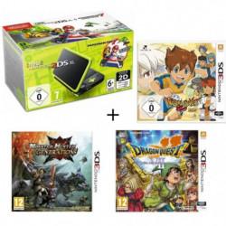 New DS XL Noir et Citron + Monster Hunter Generations + …