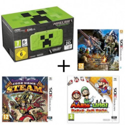 New 2DS XL Minecraft Creeper Edition + …