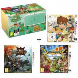 New 2DS XL Animal Crossing + Monster Hunter Generations + …