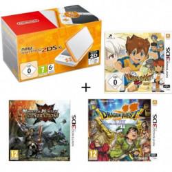 New 2DS XL Blanche et Orange + Monster Hunter Generations + …
