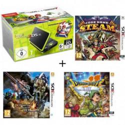 New DS XL Noir et Citron + Monster Hunter 4 Ultimate + …