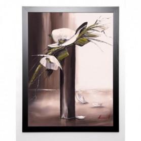 TRAMONI OLIVIER Image encadrée Bouquet blanc I 67x87 cm