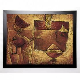 VITAL ISABELLE Image encadrée La 5eme case 67x87 cm