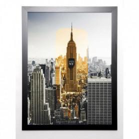 BRAUN STUDIO Image encadrée NY trace 67x87 cm Gris