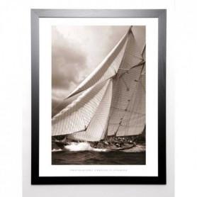 FEVRIER Image encadrée Schooner Mariette 67x87 cm